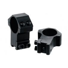 Кольца Leapers 26 мм на планку 10-12 мм высокие (два винта)