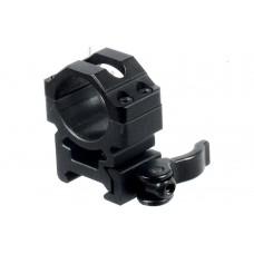 Кольца Leapers быстросъемные 26 мм на Weaver, с рычажным зажимом (средние)