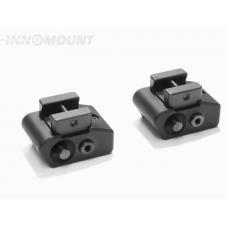 Быстросъемный кронштейн Innomount Weaver/Picatinny из 2 частей с верхним основанием под LM-шину