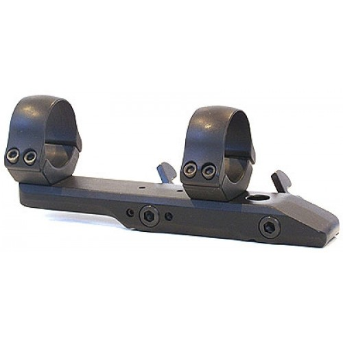 Быстросъемный кронштейн MAK на едином основании на призму 12 мм на кольца 30 мм