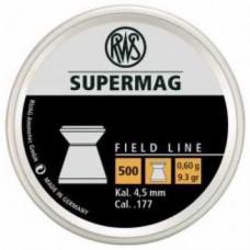 Пульки RWS Supermag 4,5 мм 0,6 г, 9,3 гр.