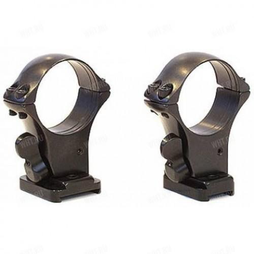 Быстросъемные кольца MAK 30 мм с базами на Tikka T3