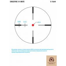 Оптический прицел Vortex Crossfire II AO 6-18x44