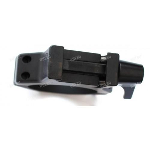 Быстросъемные стальные кольца Contessa на базу Picatinny, 40 мм, BH=14,5 мм