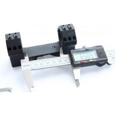Быстросъемный моноблок Contessa Tactical, кольца 30 мм, BH = 19 мм, на Picatinny, 20 MOA