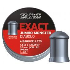 Пульки JSB Exact Jumbo Monster кал. 5.52 мм 1,645 г.