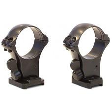 Быстросъемный кронштейн на раздельных основаниях MAK на Benelli Argo, Browning Bar II кольца 30мм (высота 17 мм)