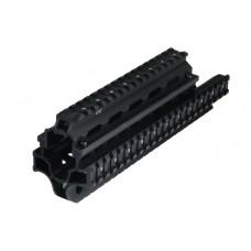 Кронштейн-цевье Leapers MNT-HGSG12 на Сайгу-12 (4 базы weaver)