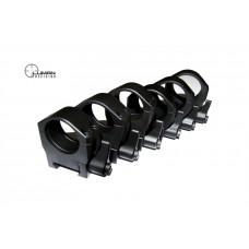 Быстросъемные кольца Luman Precision на Weaver 30 мм (низкие)
