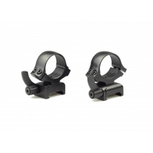 Быстросъемные кольца раздельные Kozap Weaver Alfa D26 мм (No.66)