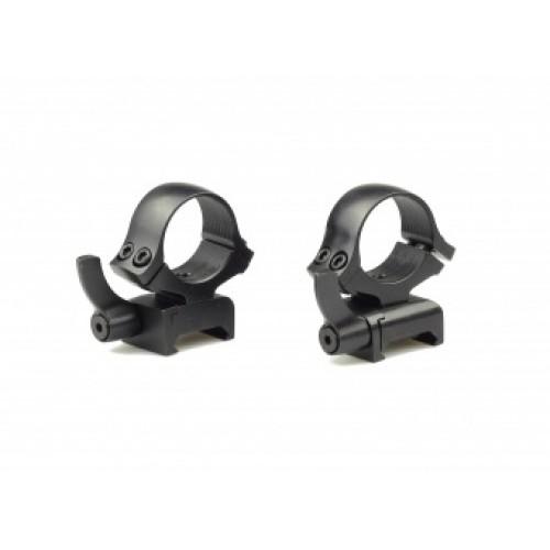 Быстросъемные кольца раздельные Kozap Weaver Alfa D26 мм (No.66) BH=14,8