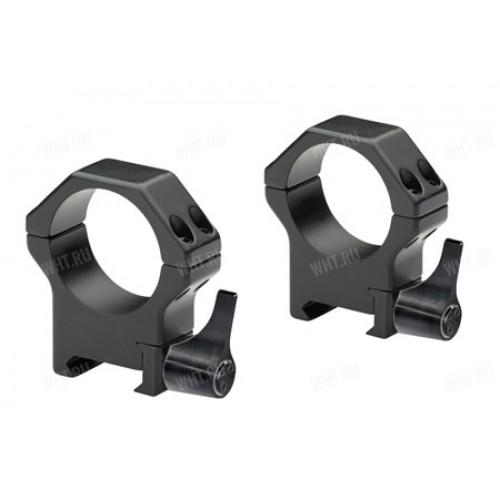 Быстросъемные стальные кольца Contessa на базу Picatinny, 34 мм, BH=8 мм