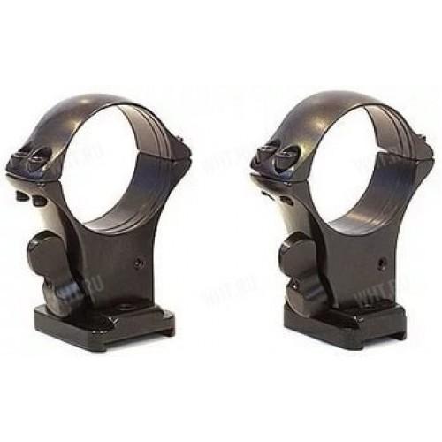Быстросъемные кольца MAK 30 мм с базами на Heym SR 21
