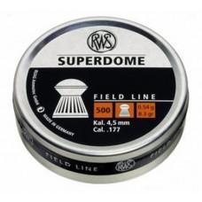 Пульки RWS Superdome 4,5 мм 0,54 г.