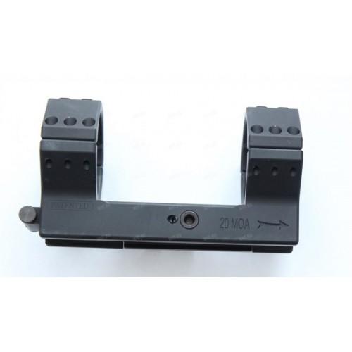 Быстросъемный моноблок Contessa Tactical, кольца 40 мм, BH = 15 мм, на Picatinny, 20 MOA