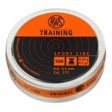 Пульки RWS Training 4,5 мм, 0,53 г.