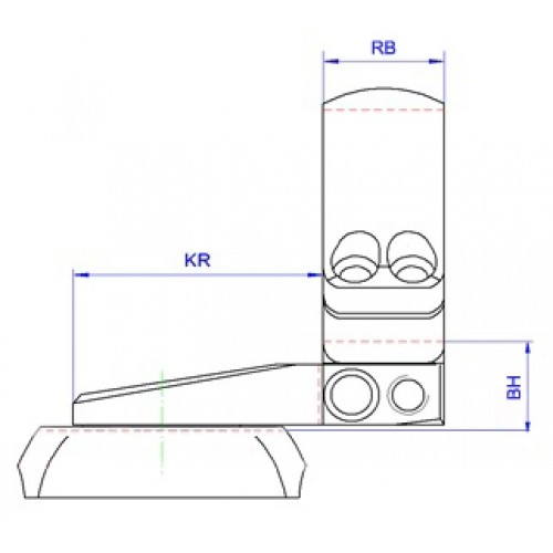 Быстросъемный поворотный кронштейн Apel EAW на Remington 700, Sauer 101 26 мм