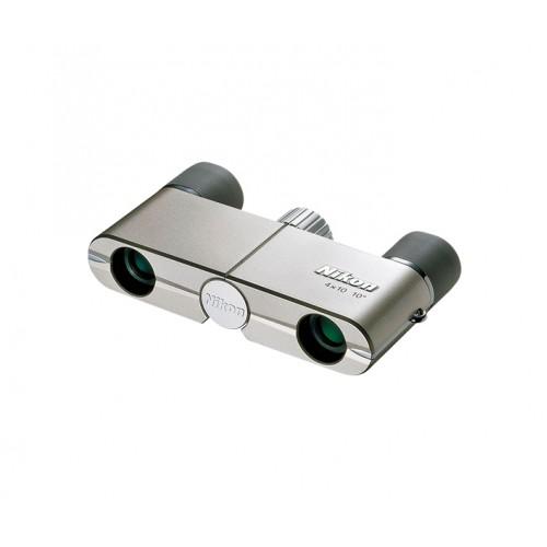 Бинокль Nikon Elegant Compact 4x10 DCF silver