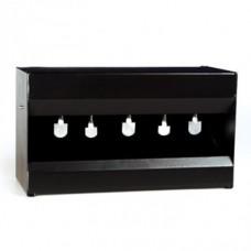 Портативный мишенный комплекс Stil Crin для пневматики с 5 металлическими блинчиками