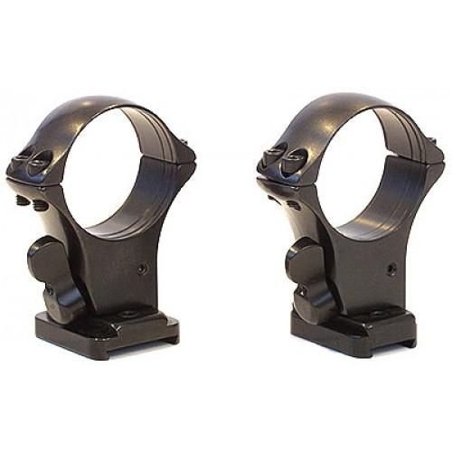 Быстросъемный кронштейн на раздельных основаниях MAK на Remington 700 на 30 мм