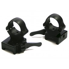 Быстросъемные раздельные кольца Apel EAW на Weaver 26 мм (высокие),bh–20мм